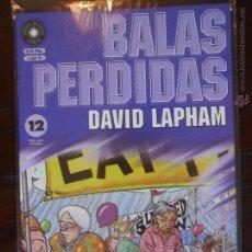 Fumetti: BALAS PERDIDAS - Nº 12 - DAVID LAPHAM - LA CUPULA - NUEVO (U1). Lote 51040457
