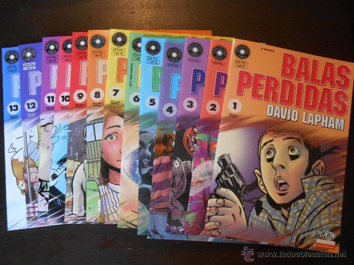 BALAS PERDIDAS - NUMEROS 1 A 13 - DAVID LAPHAM - LA CUPULA - NUEVO (U1) (Tebeos y Comics - La Cúpula - Comic USA)