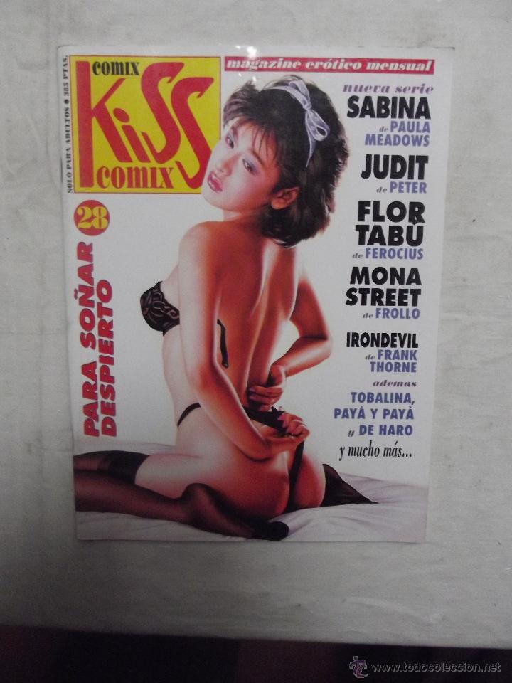 COMIX KISS Nº 28 MAGAZINE EROTICO MENSUAL (Tebeos y Comics - La Cúpula - Autores Españoles)