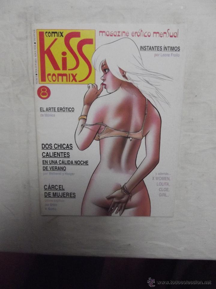 COMIX KISS Nº 8 MAGAZINE EROTICO MENSUAL (Tebeos y Comics - La Cúpula - Autores Españoles)