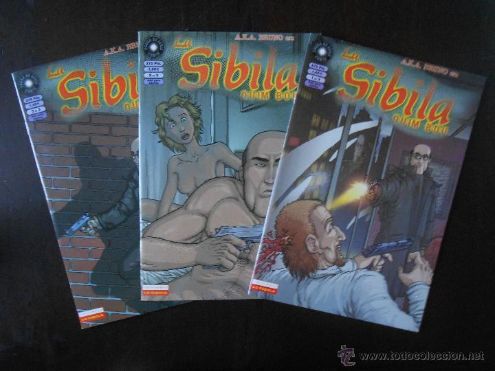 LA SIBILA COMPLETA (3 NUMEROS) - QUIM BOU - LA CUPULA - COMO NUEVO (C2) (Tebeos y Comics - La Cúpula - Autores Españoles)