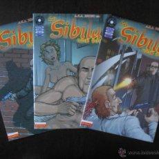 Cómics: LA SIBILA COMPLETA (3 NUMEROS) - QUIM BOU - LA CUPULA - COMO NUEVO (C2). Lote 51971078