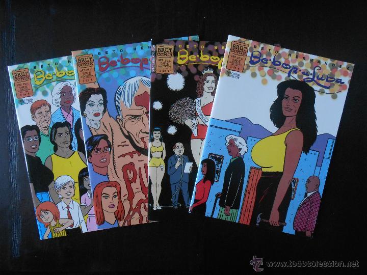 BE BOP A LUBA COMPLETA (4 NUMEROS) - BETO HERNANDEZ - BRUT COMIX - COMO NUEVO (C2) (Tebeos y Comics - La Cúpula - Autores Españoles)