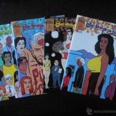 Cómics: BE BOP A LUBA COMPLETA (4 NUMEROS) - BETO HERNANDEZ - BRUT COMIX - COMO NUEVO (C2). Lote 51971295