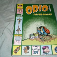 Cómics: ODIO INTEGRAL VOLUMEN DOS PETER BAGGE LA CÚPULA 2008. Lote 52006684
