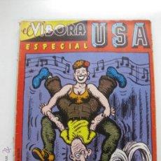 Cómics: EL VIBORA ESPECIAL USA. EDICIONES LA CUPULA 1981.. Lote 52497172