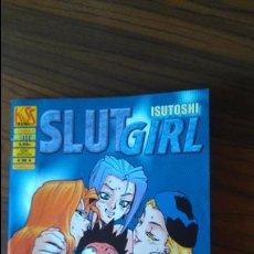 Cómics: SLUT GIRL 4. ISUTOSHI. KISS MANGA. LA CUPULA. HENTAI. Lote 52617923