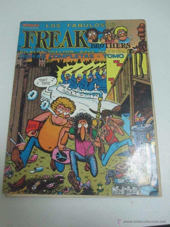 LOS FABULOSOS FREAK BROTHERS OBRAS COMPLETAS TOMO 1 MAKOKI ED. LA CUPULA E11 (Tebeos y Comics - La Cúpula - Comic USA)