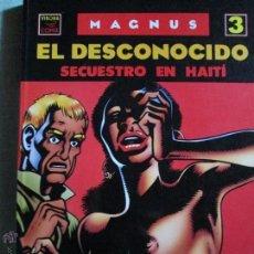 Cómics: EL DESCONOCIDO N--3 SECUESTRO EN TAHITI. Lote 52867139
