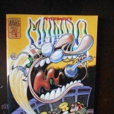 Cómics: MUNDO IDIOTA Nº 9 - PETER BAGGE - BRUT COMIX - LEER DESCRIPCION (D1). Lote 53315421