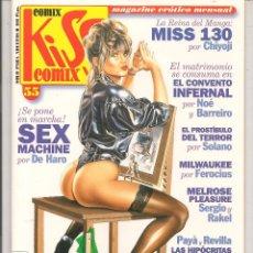 Cómics: COMIX KISS COMIX. Nº 55. LA CUPULA. 1991. (P/B4). Lote 53512775