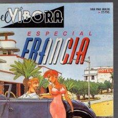 Cómics: LOTE DE 4 COMICS EL VIBORA. ESPECIAL FRANCIA. EXTRA NAVIDAD. Nº 124. EXTRA 7º ANIVERSARIO. Lote 53912180