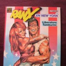 Cómics: RANXEROX EN NEW YORK 1 LIBERATORE & TAMBORINI. EDICIONES LA CÚPULA VIBORA COMIX TEBENI NUEVO. Lote 54296902