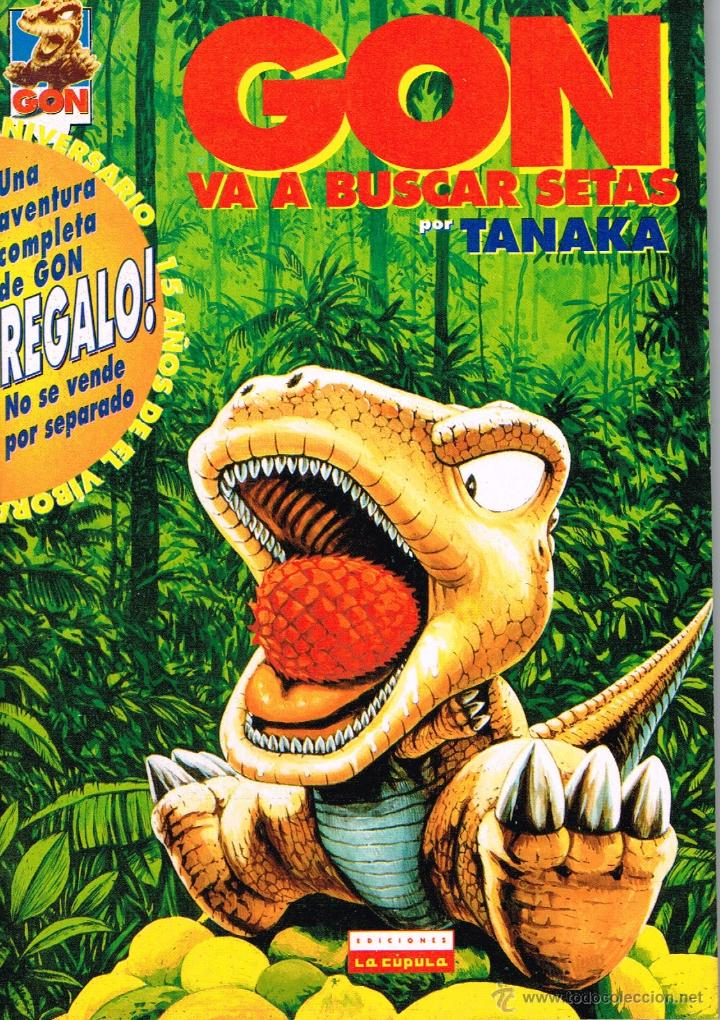 GON VA A BUSCAR SETAS.DIBUJOS TANAKA.EDICIONES LA CÚPULA. (Tebeos y Comics - La Cúpula - Comic USA)