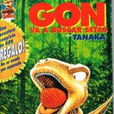 Cómics: GON VA A BUSCAR SETAS.DIBUJOS TANAKA.EDICIONES LA CÚPULA.. Lote 54523959