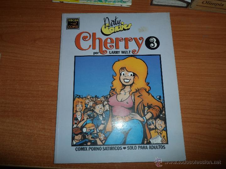 DIRTY COMICS DE EL VIBORA CHERRY Nº 3 1990 64 PAGINAS (Tebeos y Comics - La Cúpula - Comic USA)