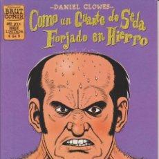 Cómics: DANIEL CLOWES - COMO UN GUANTE DE SEDA FORJADO EN HIERRO - NÚM. 4 - LA CÚPULA 1995. Lote 54863407