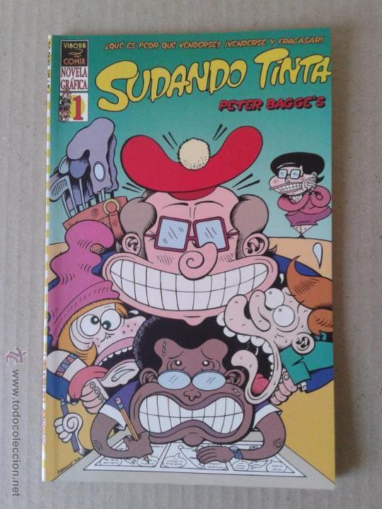 SUDANDO TINTA, NÚMERO 1 (PETER BAGGE). LA CÚPULA. COLOR. (Tebeos y Comics - La Cúpula - Comic USA)