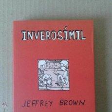 Cómics: INVEROSÍMIL, DE JEFFREY BROWN. LA CÚPULA. B/N.. Lote 54913459