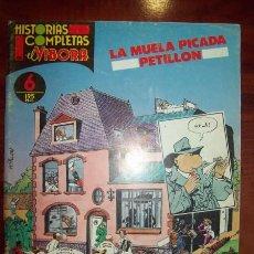 Cómics: PETILLON. LA MUELA PICADA. [HISTORIAS COMPLETAS DE EL VÍBORA ; 6] . Lote 54920320
