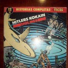 Cómics: HITLERS KOKAIN. [HISTORIAS COMPLETAS DE EL VÍBORA ; 12] / HOLMES. Lote 54920466