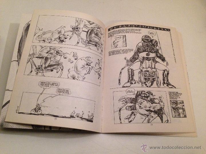 Cómics: COLECCION X Nº 6. EL DESMITIFICADOR. EL TOMI (TOMAS D ESPOSITO). LA CUPULA 1987. - Foto 2 - 55055303