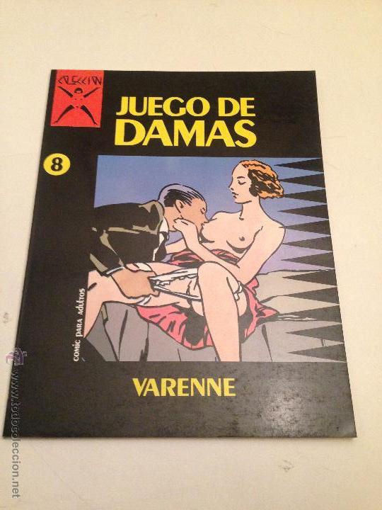 COLECCION X Nº 8. JUEGO DE DAMAS. ALEX VARENNE. LA CUPULA 1987. (Tebeos y Comics - La Cúpula - Comic Europeo)