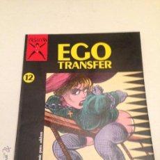Cómics: COLECCION X Nº 12. EGO TRANSFER. LECLAIRE. LA CUPULA 1987.. Lote 55056177
