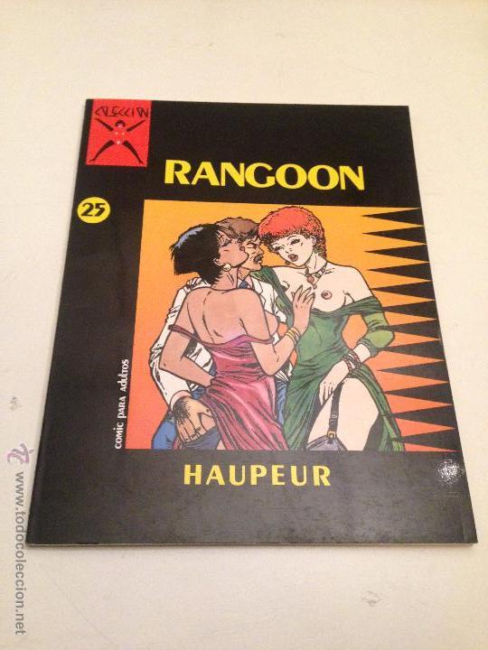 COLECCION X Nº 25. RANGOON. HAUPEUR. LA CUPULA 1987. (Tebeos y Comics - La Cúpula - Comic Europeo)