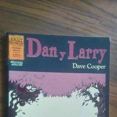 Comics : DAN Y LARRY. DAVE COOPER. BRUT COMIX. BUEN ESTADO. RARO. Lote 55912580