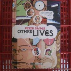 Cómics: OTHER LIVES PETER BAGGE - LA CUPULA 2010. Lote 56036292