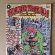 Cómics: WONDER WART-HOG EL SUPERSERDO, DE GILBERT SHELTON. NÚMERO 0. EDICIONES LA CÚPULA / BRUT CÓMIX. Lote 56036788