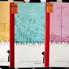 Cómics: JUEGO DE MANOS DE JASON LUTES. 3 TOMOS. COLECCION COMPLETA. Lote 56181936