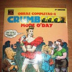 Cómics: CRUMB, R. MODE O'DAY. [CRUMB : OBRAS COMPLETAS ; 4]. Lote 56301114