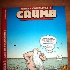 Cómics: CRUMB, R. MR. NATURAL : LAS REVELACIONES. [CRUMB : OBRAS COMPLETAS ; 7]. Lote 56301155