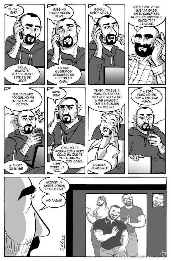 Cómics: Cómics. Demasiado guapo - Sebas Martín - Foto 2 - 56325567