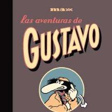 Cómics: CÓMICS. LAS AVENTURAS DE GUSTAVO INTEGRAL - MAX (CARTONÉ). Lote 56333116