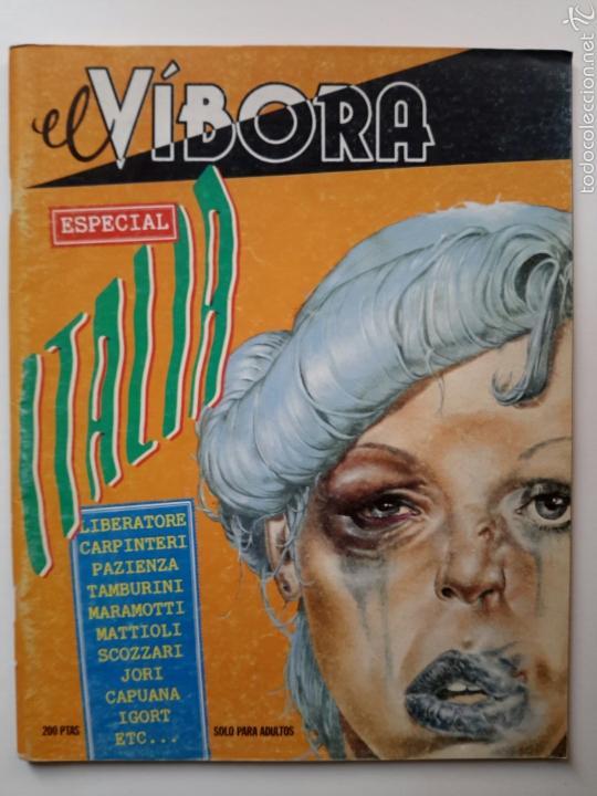 EL VÍBORA. ESPECIAL ITALIA (1984). LIBERATORE, CARPINTERI, PAZIENZA, TAMBURINI, CAPUANA, MAGNUS (Tebeos y Comics - La Cúpula - Comic Europeo)