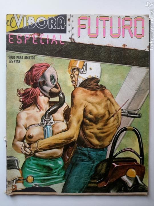 EL VÍBORA. ESPECIAL FUTURO. MONTESOL, ROGER, GALLARDO, MEDIAVILLA, ONLIYÚ, MAX, PONS, SISA, NAZARIO (Tebeos y Comics - La Cúpula - Autores Españoles)