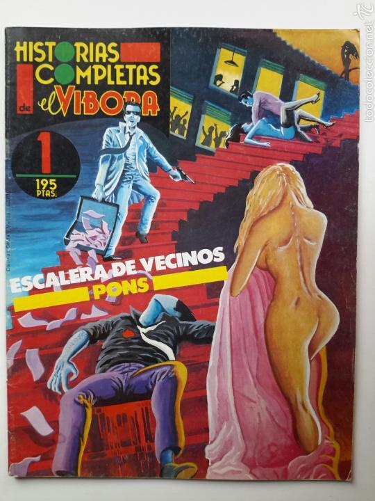 ESCALERA DE VECINOS. ALFREDO PONS. HISTORIAS COMPLETAS DE EL VÍBORA, NÚM. 1 (1987) (Tebeos y Comics - La Cúpula - Autores Españoles)