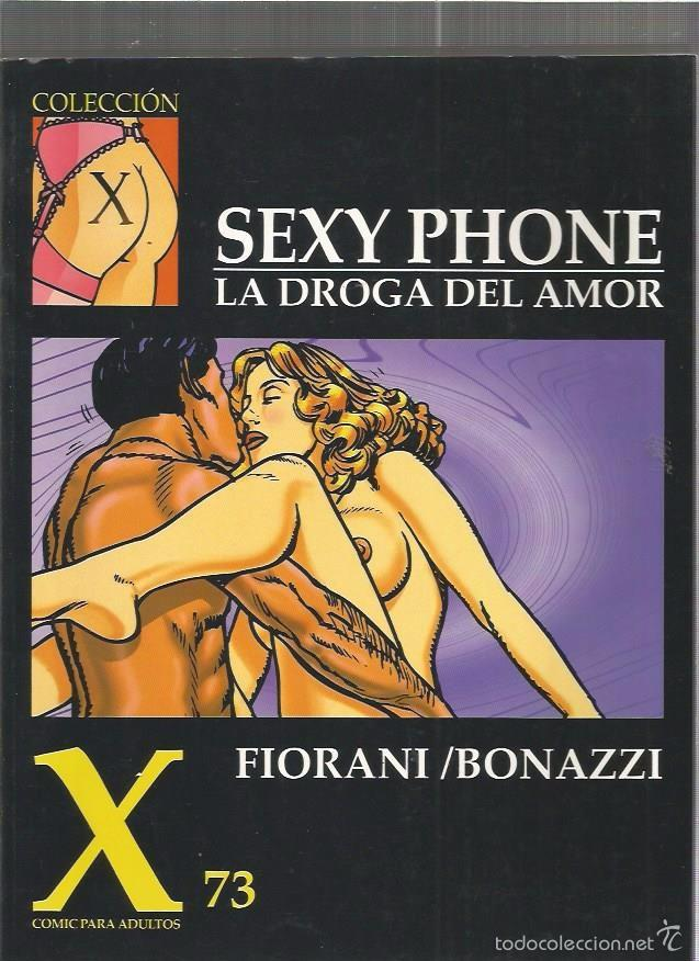 COLECCION X 73 SEXY PHONE (Tebeos y Comics - La Cúpula - Comic Europeo)