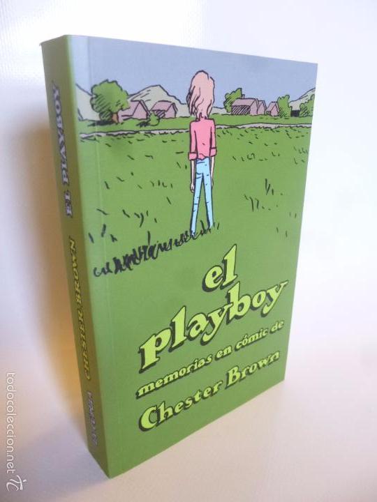 EL PLAYBOY. MEMORIAS EN COMIC DE CHESTER BROWN. LA CÚPULA, 2016 (Tebeos y Comics - La Cúpula - Comic USA)