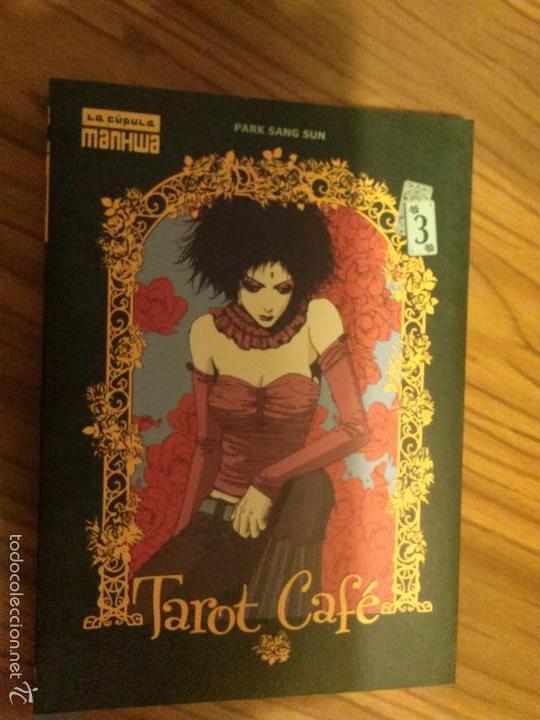TAROT CAFÉ 3. LA CUPULA MANHWA. PARK SANG SUN. BUEN ESTADO. TOMO. (Tebeos y Comics - La Cúpula - Comic USA)