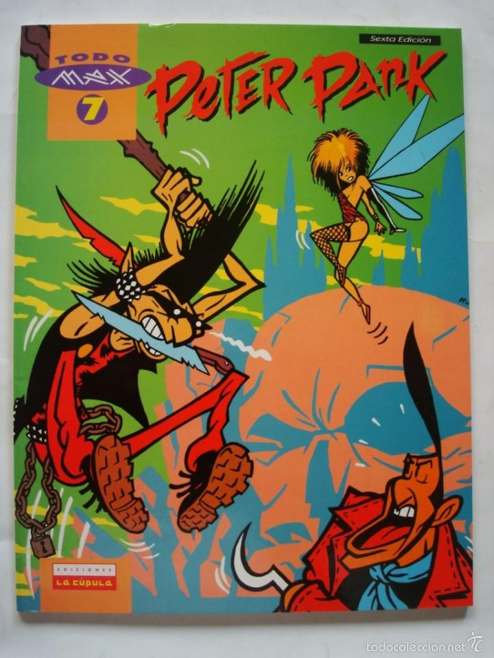 PETER PANK (TODO MAX) EDICIONES LA CÚPULA (Tebeos y Comics - La Cúpula - Autores Españoles)