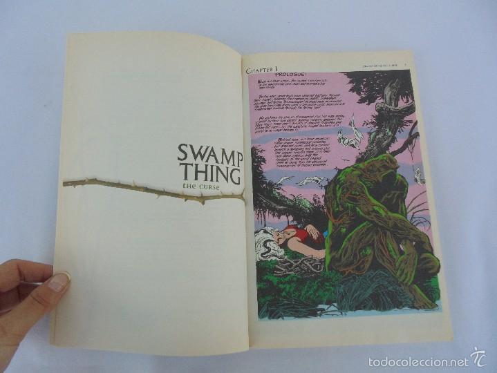 Cómics: SWAMP THING. THE CURSE. ALAN MOORE. STEPHEN BISSETTE. JOHN TOTLEBEN. VER FOTOGRAFIAS - Foto 9 - 57793482