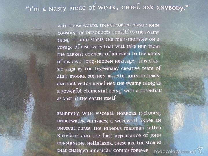 Cómics: SWAMP THING. THE CURSE. ALAN MOORE. STEPHEN BISSETTE. JOHN TOTLEBEN. VER FOTOGRAFIAS - Foto 16 - 57793482