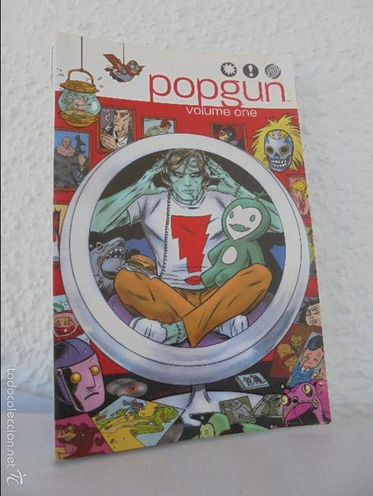 POPGUN. VOLUME ONE. EDITED BY MARK ANDREW SMITH. JOE KEATINGE. VER FOTOGRAFIAS (Tebeos y Comics - La Cúpula - Comic USA)