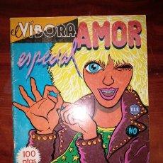 Cómics: EL VÍBORA. ESPECIAL AMOR. Lote 57947044
