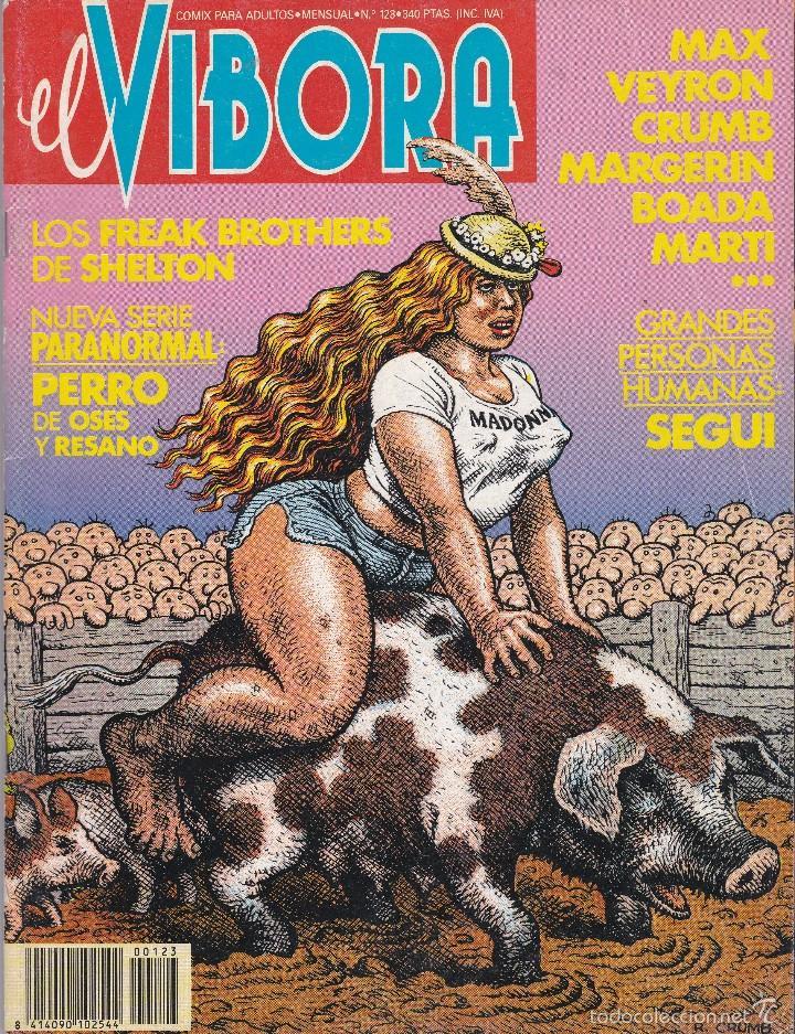 CÓMIC ADULTOS EL VÍBORA Nº 123 (Tebeos y Comics - La Cúpula - El Víbora)