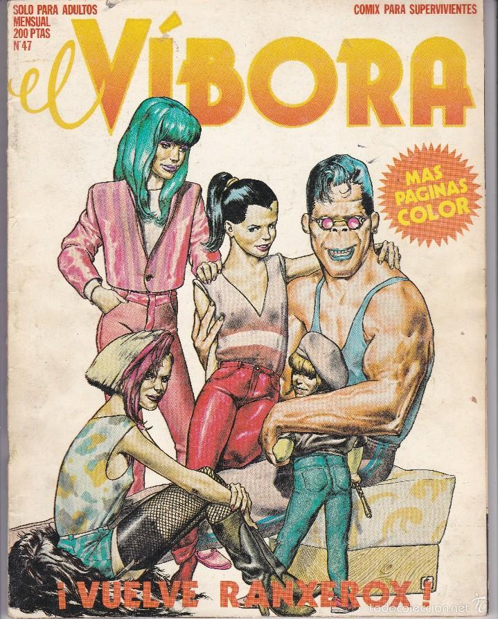 CÓMIC ADULTOS EL VÍBORA Nº 47 (Tebeos y Comics - La Cúpula - El Víbora)